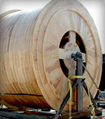 Machining of a Large Wooden Wheel for the Aerospace Industry